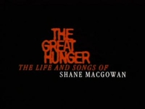The Great Hunger: The Life and Songs of Shane MacGowan - Poster / Capa / Cartaz - Oficial 1