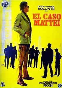 O Caso Mattei - Poster / Capa / Cartaz - Oficial 2