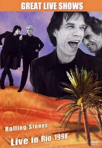 Rolling Stones - Live in Rio 1998 - Poster / Capa / Cartaz - Oficial 1
