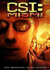 CSI: Miami (3ª Temporada) - Poster / Capa / Cartaz - Oficial 1