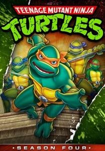 As Tartarugas Ninja (4ª Temporada) - Poster / Capa / Cartaz - Oficial 1