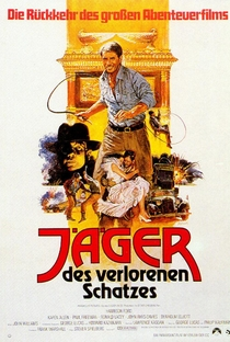 Indiana Jones e os Caçadores da Arca Perdida - Poster / Capa / Cartaz - Oficial 9