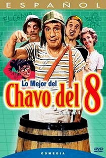 Chaves (4ª Temporada) - Poster / Capa / Cartaz - Oficial 4