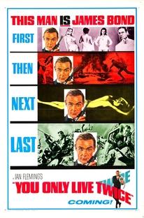 Com 007 Só Se Vive Duas Vezes - Poster / Capa / Cartaz - Oficial 5