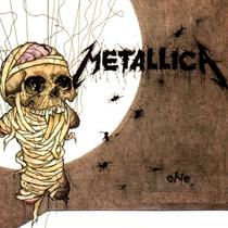 """Metallica - """"One"""" - Poster / Capa / Cartaz - Oficial 2"""
