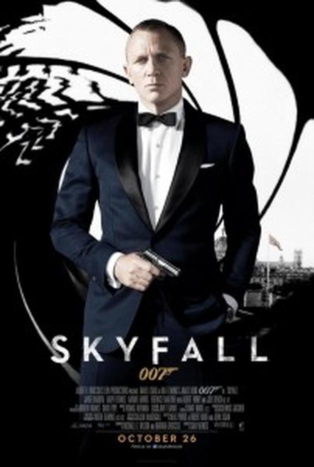Revelado novo cartaz de 007 - Operação Skyfall.