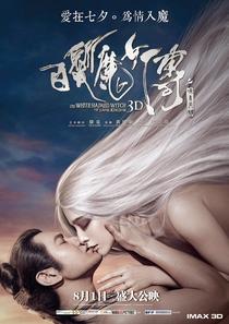 A Bruxa do Cabelo Branco do Reino Lunar - Poster / Capa / Cartaz - Oficial 8