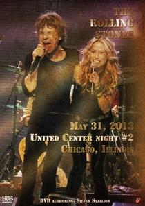 Rolling Stones - Chicago 2013 Night #2 - Poster / Capa / Cartaz - Oficial 1
