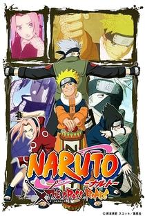 Naruto: OVA 6 - As Estradas Transversais - Poster / Capa / Cartaz - Oficial 1
