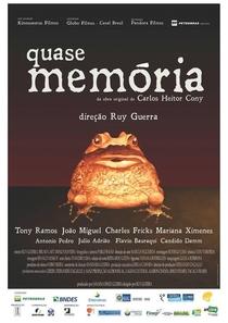Quase Memória - Poster / Capa / Cartaz - Oficial 1