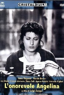 Angelina, A Deputada - Poster / Capa / Cartaz - Oficial 1