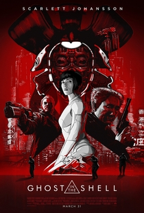 A Vigilante do Amanhã: Ghost in the Shell - Poster / Capa / Cartaz - Oficial 3