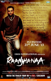 Raanjhanaa - Poster / Capa / Cartaz - Oficial 2