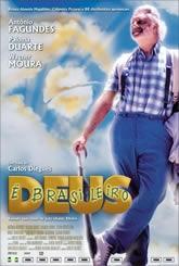 Deus É Brasileiro - Poster / Capa / Cartaz - Oficial 2