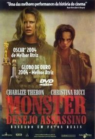 Monster - Desejo Assassino - Poster / Capa / Cartaz - Oficial 4