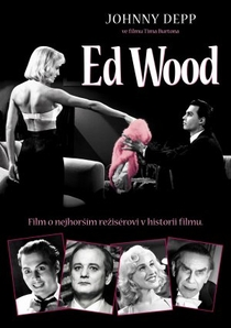 Ed Wood - Poster / Capa / Cartaz - Oficial 2