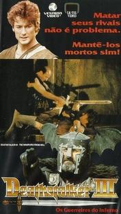 Deathstalker 3 - Os Guerreiros do Inferno - Poster / Capa / Cartaz - Oficial 2