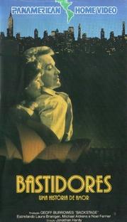 Bastidores - Uma História de Amor - Poster / Capa / Cartaz - Oficial 1