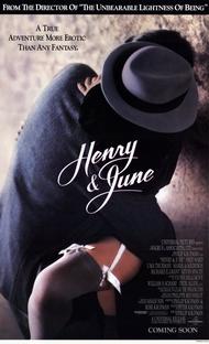 Henry & June: Delírios Eróticos - Poster / Capa / Cartaz - Oficial 2