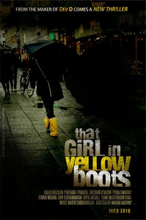 That Girl in Yellow Boots - Poster / Capa / Cartaz - Oficial 1