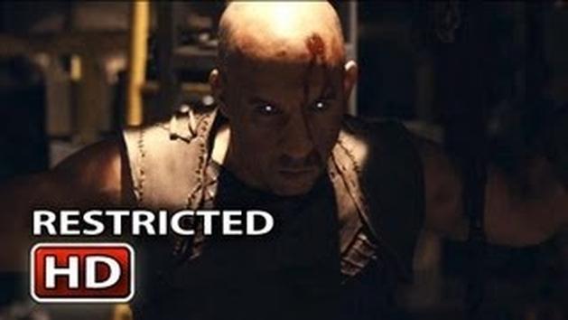 """Ação e violência no novo trailer para maiores de """"Riddick"""""""