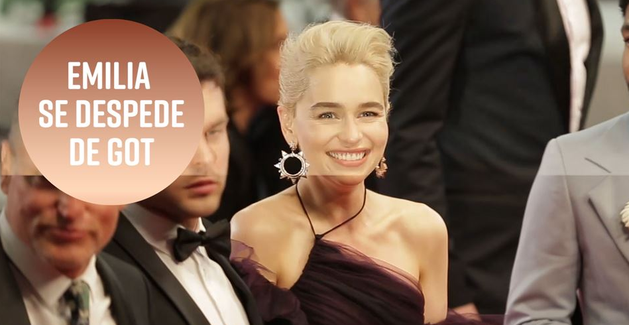 Emilia Clarke se despede de Game of Thrones
