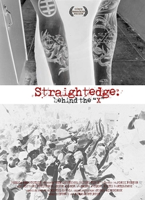 Straightedge: Behind the X - Poster / Capa / Cartaz - Oficial 1