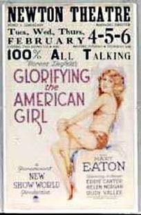 Glorifying the American Girl - Poster / Capa / Cartaz - Oficial 1