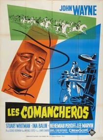 Os Comancheros - Poster / Capa / Cartaz - Oficial 5