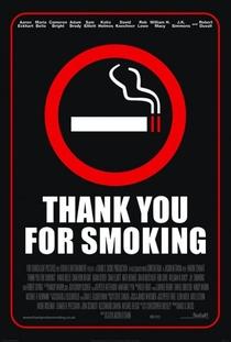 Obrigado por Fumar - Poster / Capa / Cartaz - Oficial 1