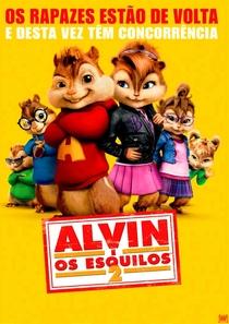 Alvin e os Esquilos 2 - Poster / Capa / Cartaz - Oficial 1