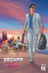 Archer (5ª Temporada)  - Poster / Capa / Cartaz - Oficial 1