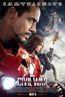 Capitão América: Guerra Civil - Poster / Capa / Cartaz - Oficial 17