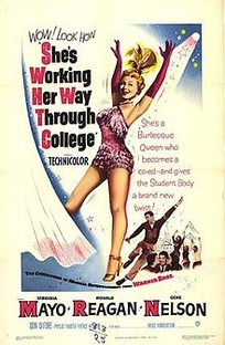 She's Working Her Way Through College - Poster / Capa / Cartaz - Oficial 1