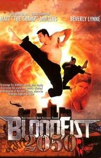 Bloodfist 2050 - Poster / Capa / Cartaz - Oficial 1