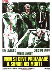 Não se Deve Profanar o Sono dos Mortos - Poster / Capa / Cartaz - Oficial 1