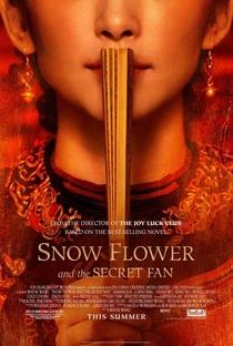 Flor da Neve e o Leque Secreto - Poster / Capa / Cartaz - Oficial 1
