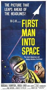 O Primeiro Homem no Espaço - Poster / Capa / Cartaz - Oficial 2