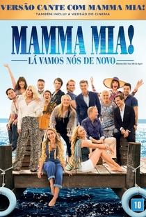 Mamma Mia! Lá Vamos Nós de Novo - Poster / Capa / Cartaz - Oficial 3