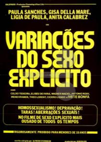 Variações do Sexo Explícito  - Poster / Capa / Cartaz - Oficial 1