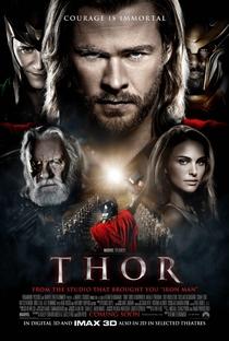 Thor - Poster / Capa / Cartaz - Oficial 2