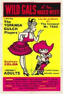 Garotas nuas do Oeste Selvagem - Poster / Capa / Cartaz - Oficial 1