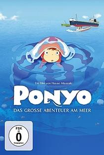 Ponyo: Uma Amizade que Veio do Mar - Poster / Capa / Cartaz - Oficial 40