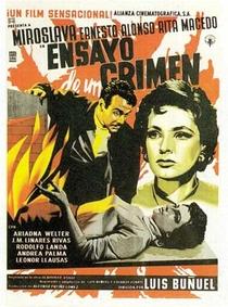 Ensaio de um Crime - Poster / Capa / Cartaz - Oficial 5