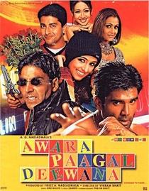Awara Paagal Deewana - Poster / Capa / Cartaz - Oficial 1