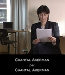 Chantal Akerman por Chantal Akerman (Chantal Akerman par Chantal Akerman)