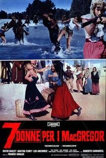 Sete Mulheres para os MacGregor - Poster / Capa / Cartaz - Oficial 4