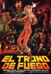 O Trono de Chamas - Poster / Capa / Cartaz - Oficial 2