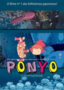 Ponyo: Uma Amizade que Veio do Mar - Poster / Capa / Cartaz - Oficial 18