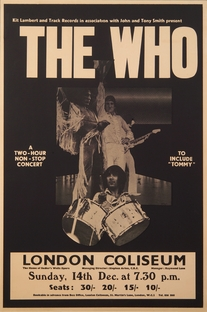 The Who at the London Coliseum 1969 - Poster / Capa / Cartaz - Oficial 1